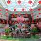 Mitsui Outlet Park KLIA Sepang welcomes the Chinese New Year with festive decorations celebrating the Year of the Monkey