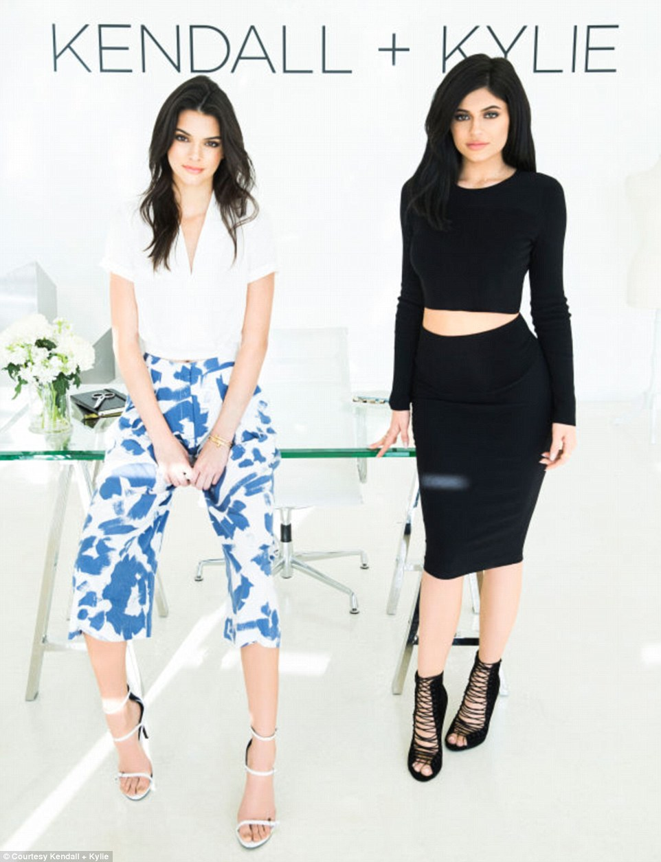 Photo: Kendall + Kylie Collection via Daily Mail UK