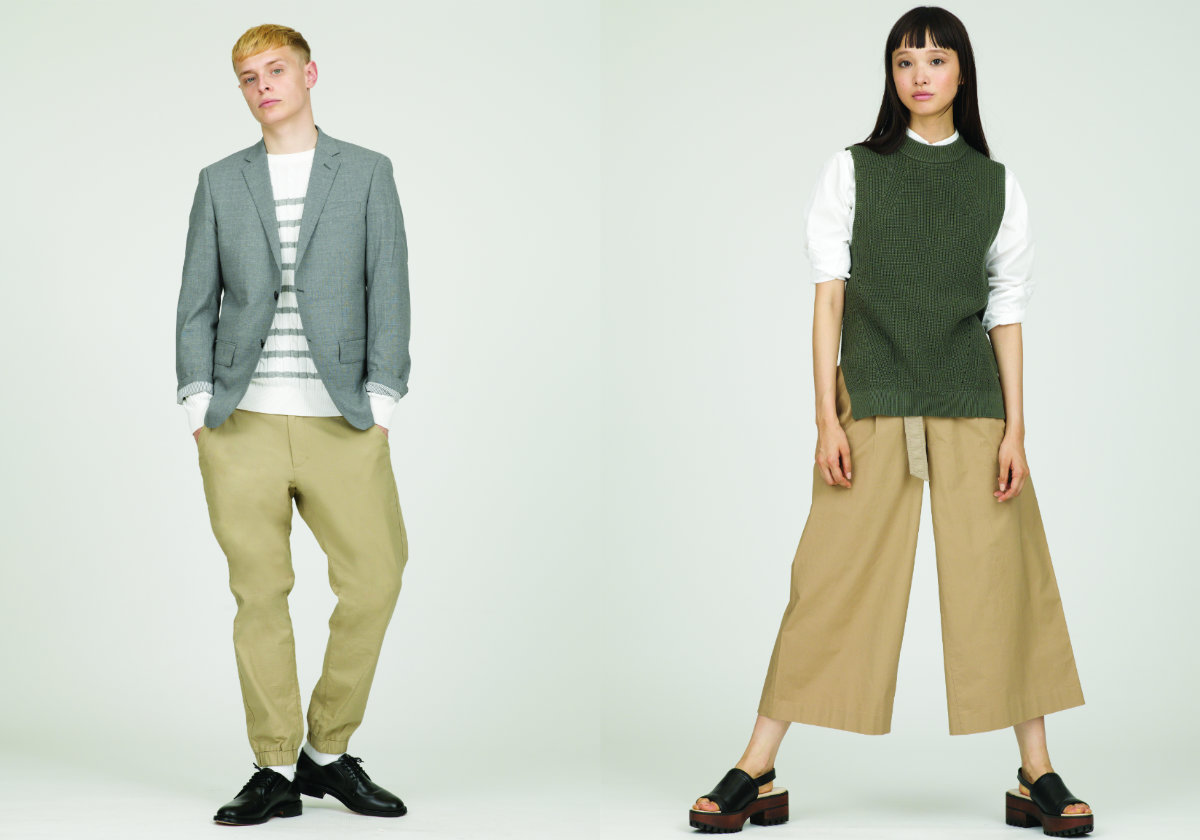 d5bd1c17f63e0 ... from UNIQLO s LifeWear Spring Summer 2016 collection are broken down  into a few categories. The Contemporary styles consist of clean-looking  clothing ...