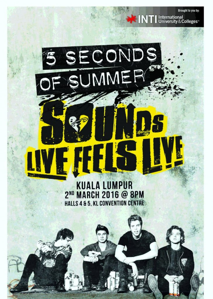 5 Seconds of Summer_A2 Poster2