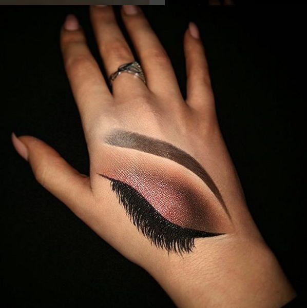 These Girls Are Killin' It With Hand Makeup Art!