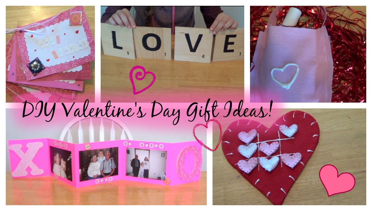 Perfect Last Minute DIY Gifts for Valentine's Day