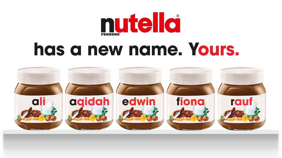You Can Now Have A Personalized Jar of Nutella Thanks To ...