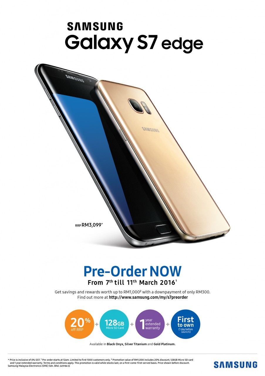 4b51895b39 You Can Pre-Order The Samsung Galaxy S7 edge From March 7 At Midnight