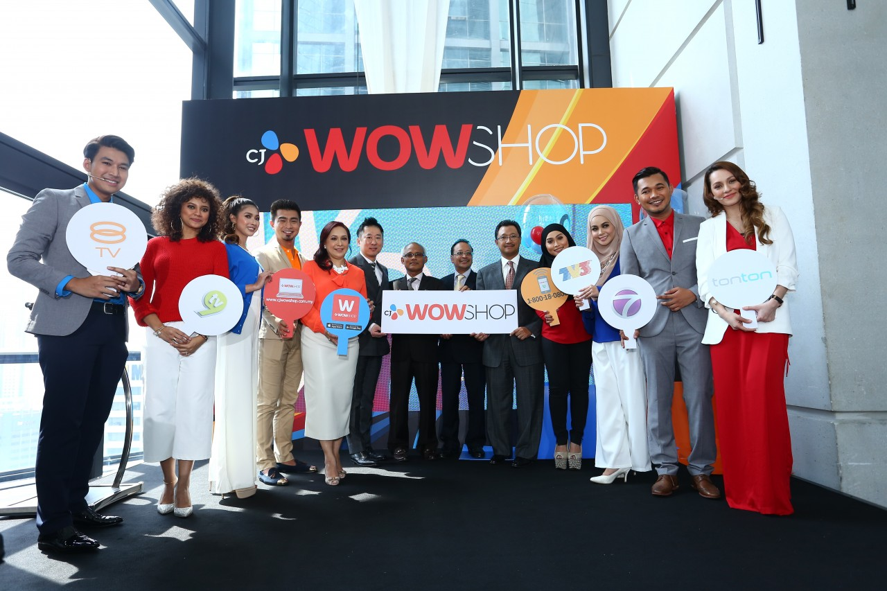 CJ WOW SHOP  Malaysia s innovative home shopping network integrating  television  online and mobile platforms  was launched recently and people at  home can. Home Shopping Network CJ WOW SHOP Debuts In Malaysia   Lipstiq com