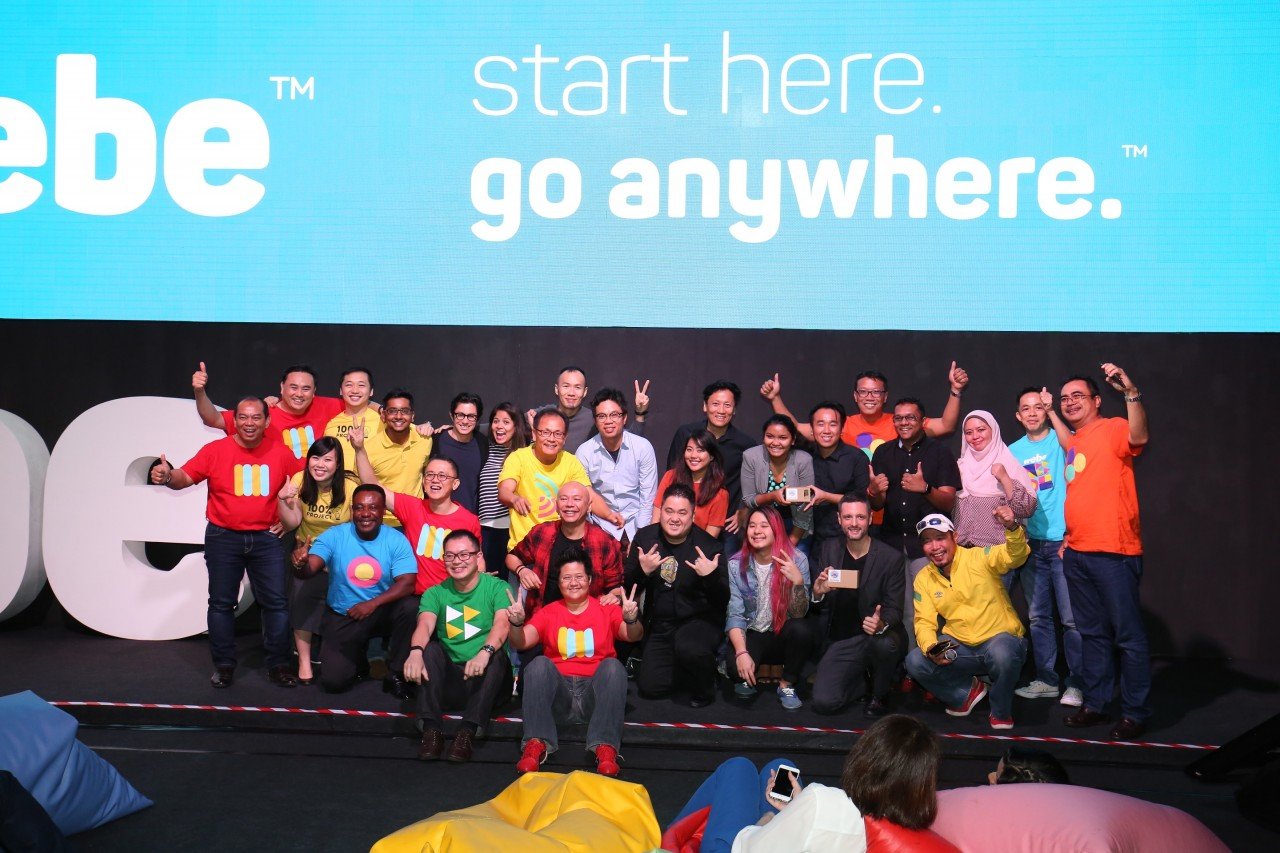 webe team with project champions