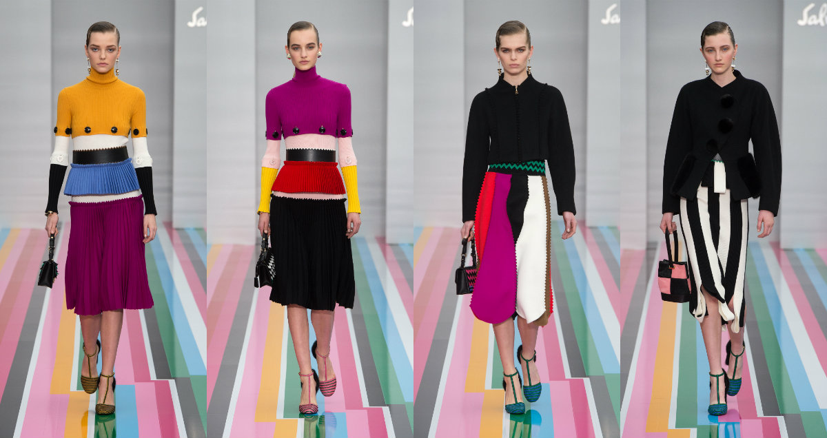 f5710d0f21c2 Salvatore Ferragamo Showcases Playful Juxtapositions For AW  16 ...