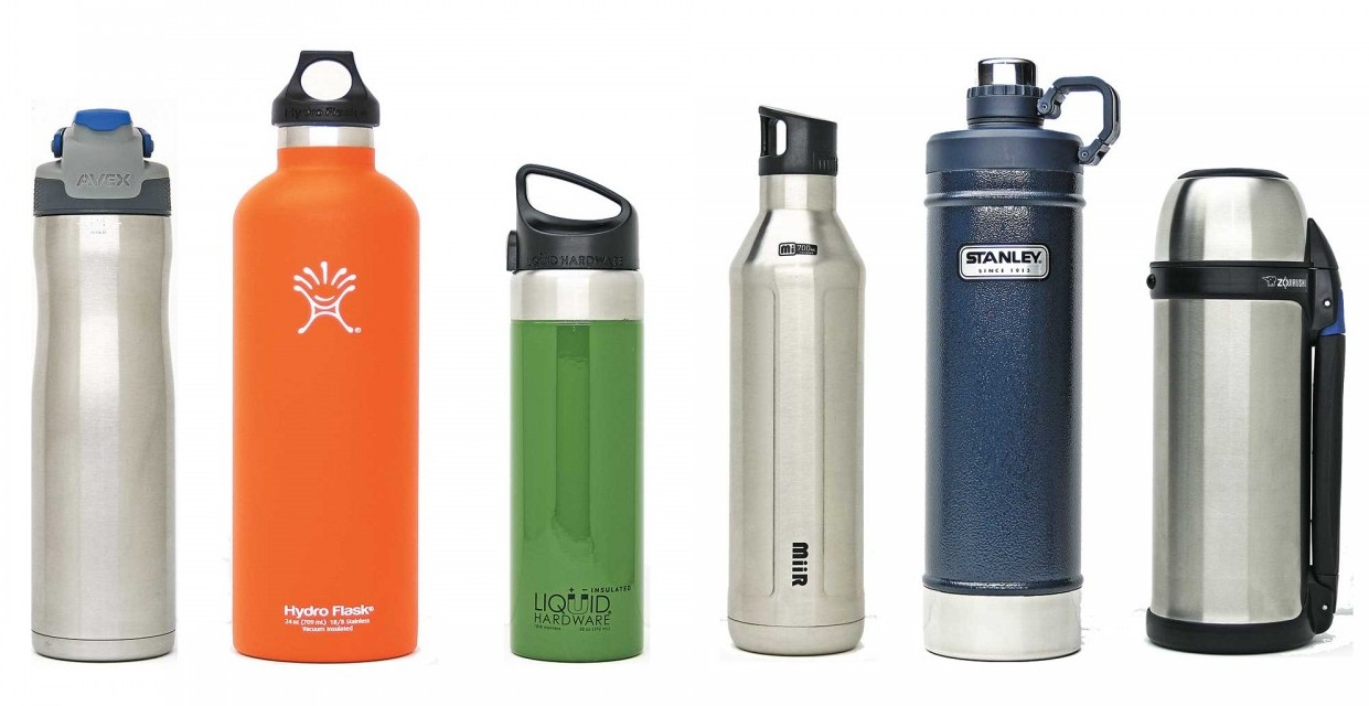 how does an insulated water bottle work