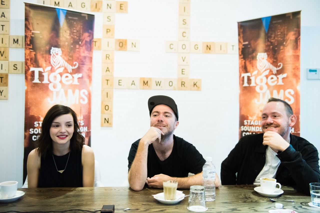 01 Chvrches - an acclaimed international act and Tiger Jam's collaborator - met with selected media at KL Journal on Sept 2, 2016.