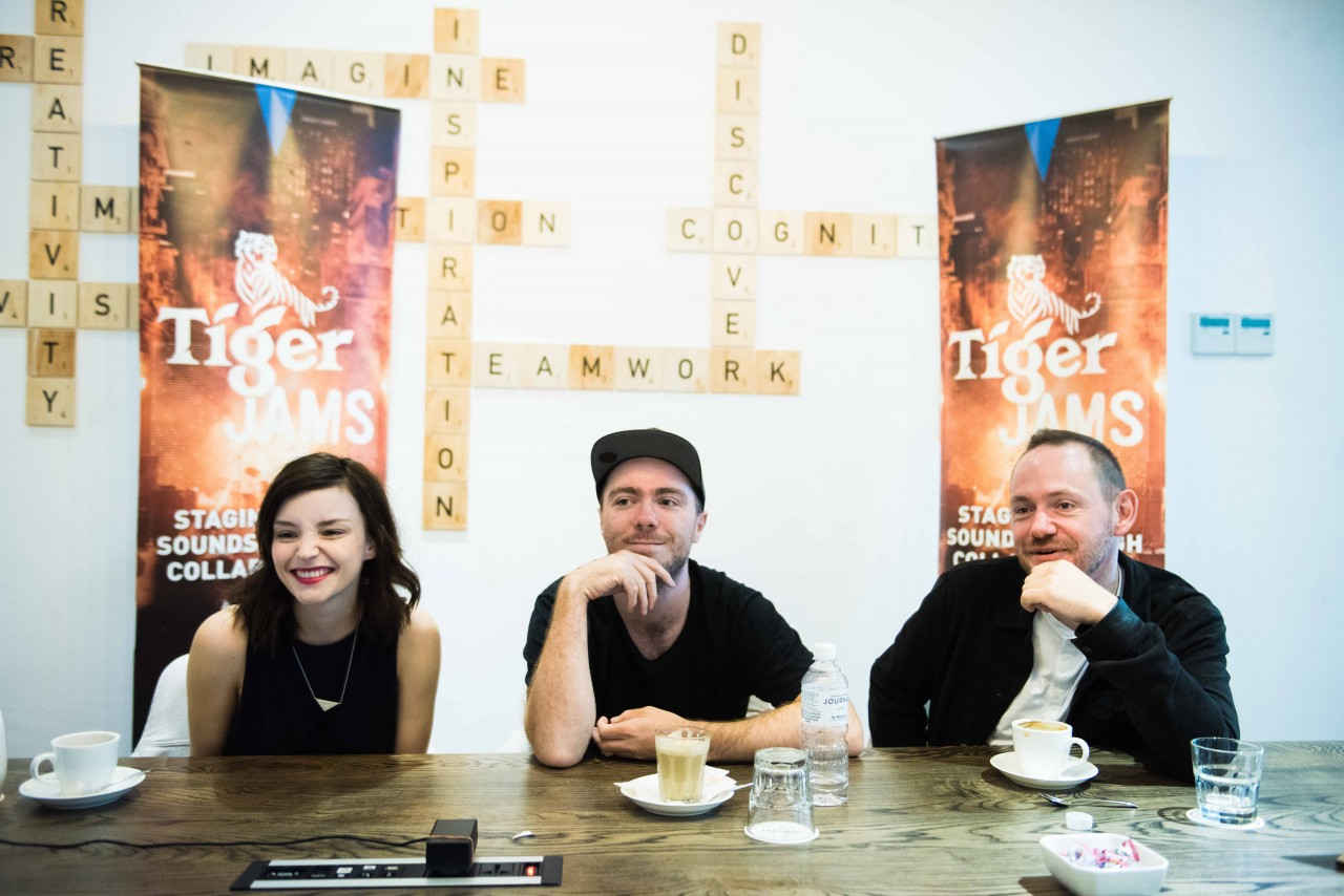 02 Chvrches - an acclaimed international act and Tiger Jam's collaborator - met with selected media at KL Journal on Sept 2, 2016.