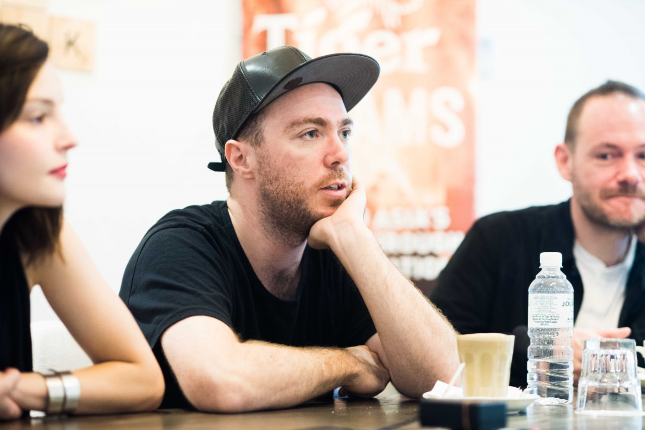 Martin Doherty of Chvrches