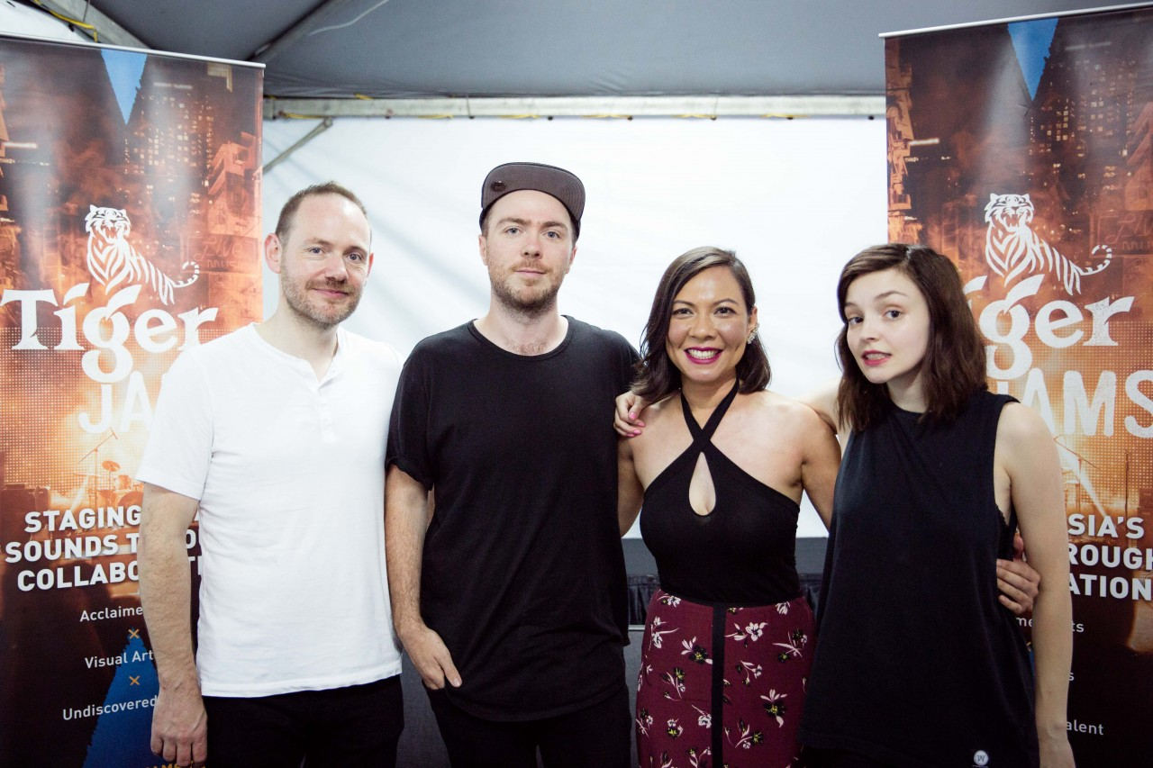 Scottish synthpop band, Chvrches, handpicked Tiger Jams finalist Rozella's original track to remix. The collaboration is part of Tiger Beer's music and art initiative, Tiger Jams.