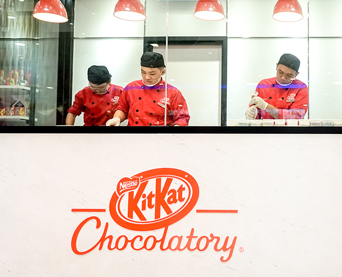 There's A KitKat Chocolatory Store At Mid Valley Megamall For A Limited Time Only!