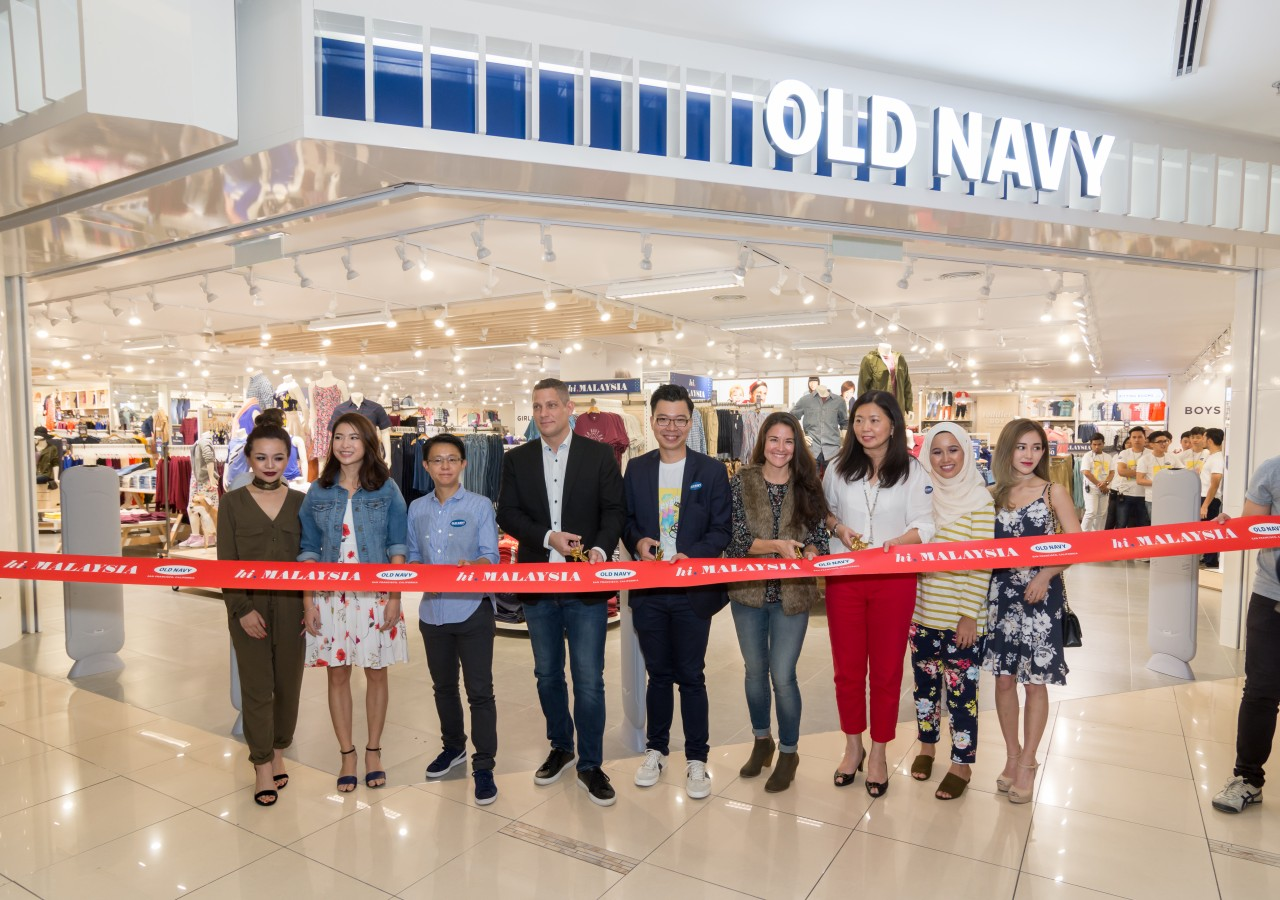 Old Navy Opens Doors To Its First Store In Malaysia
