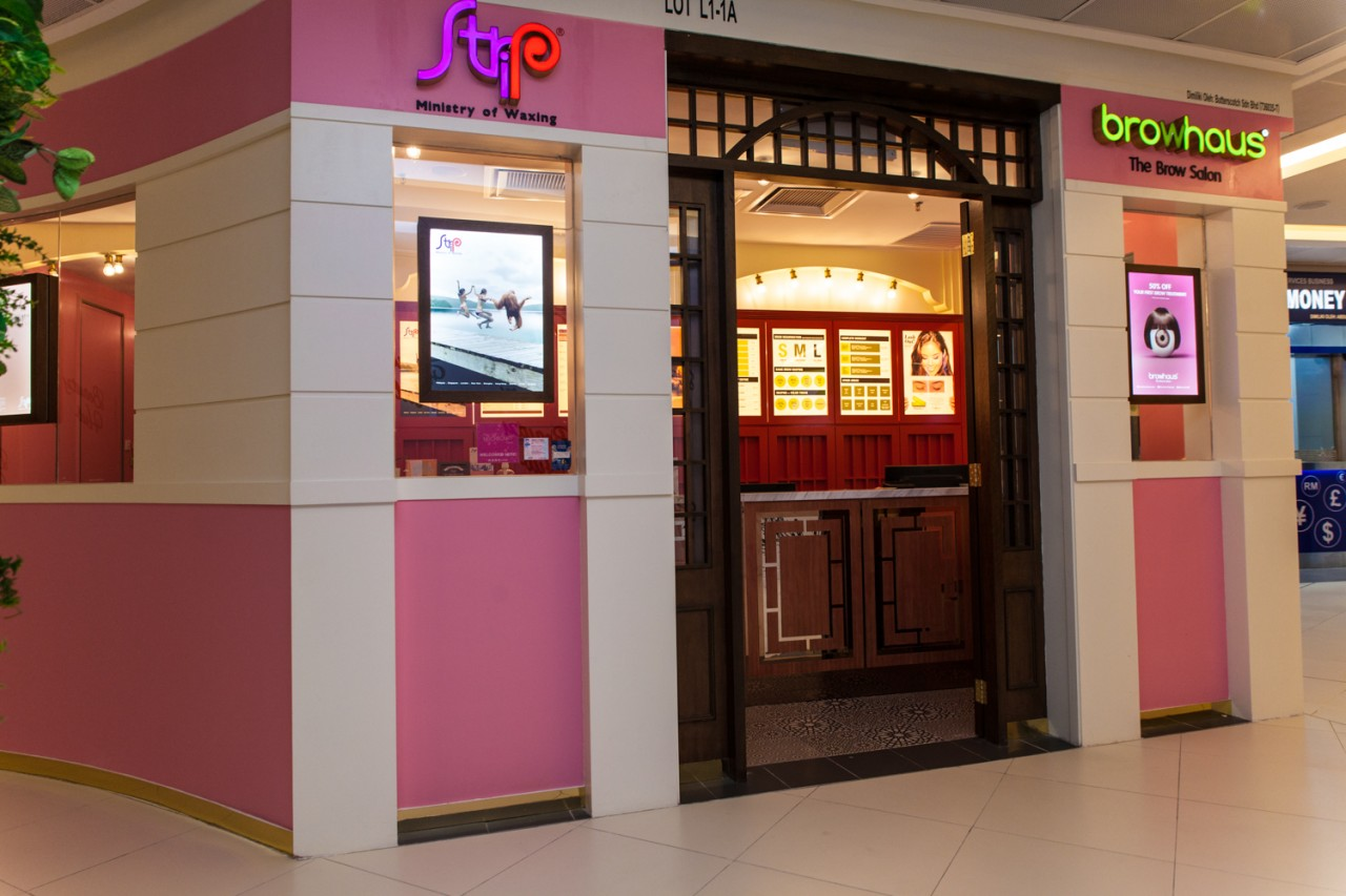 STRIP and Browhaus' latest outlet at Avenue K