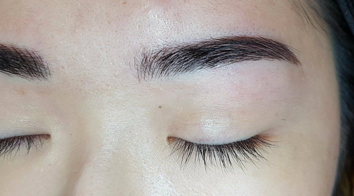 Review Getting A Semi Permanent Brow Enhancement Done At Browhaus