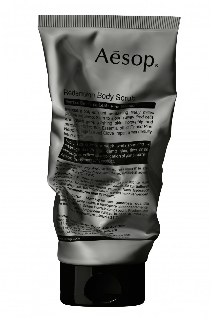 AESOP BODY REDEMPTION BODY SCRUB SQUASHED 180mL C