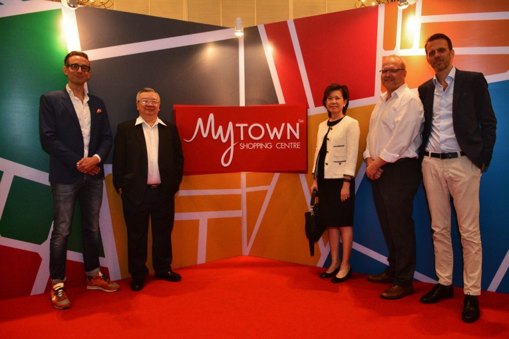 L-R: Mr. Mikael Josefson, Shopping Centre Deputy Director, Ikano Pte Ltd., Datuk Koo Hock Fee, Director of Boustead Ikano Sdn. Bhd., Ms Cheah Swee Choo, Director of Boustead Ikano Sdn. Bhd., Mr. Joakim Hogsander, General Manager of MyTown Shopping Centre and Mr. Thomas Malmberg, Director of Boustead Ikano Sdn Bhd.