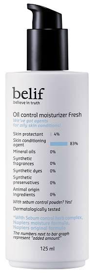 Oil Control Moisturizer Fresh 125ml