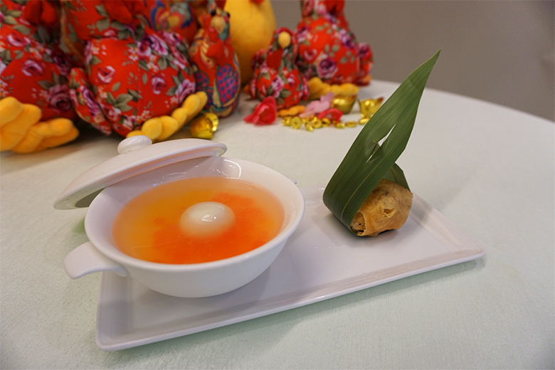 Chilled-Rainbow-Pearl-Yuzu-Broth-and-Pan-fried-Chinese-New-Year-Cake
