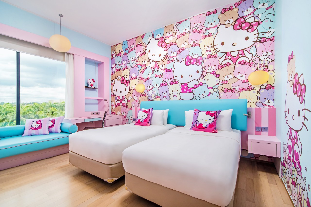 Bring Your Hello Kitty Dreams To Life In These Themed Rooms At Hotel