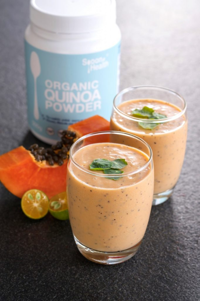 Papaya Passion Smoothie
