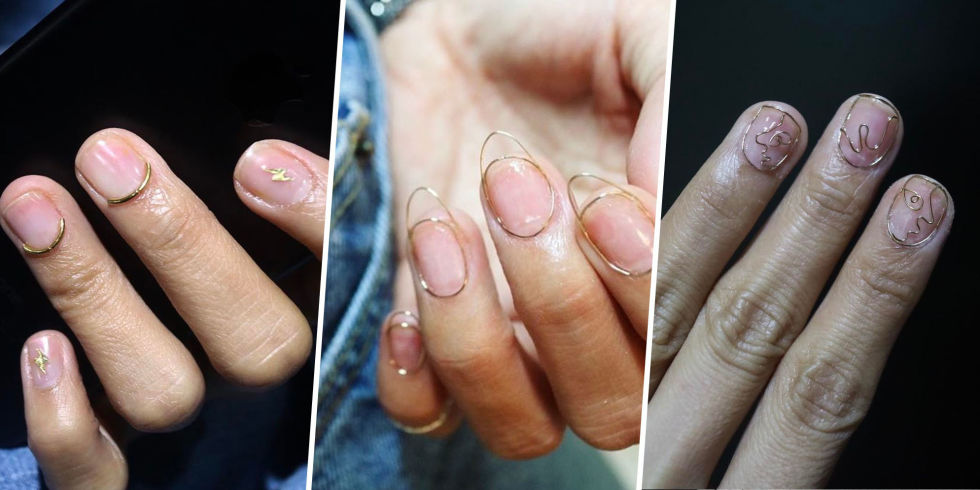 Future fashion trends 2017 - A New Cutting Edge Wire Nail Art Could Be The Most Game