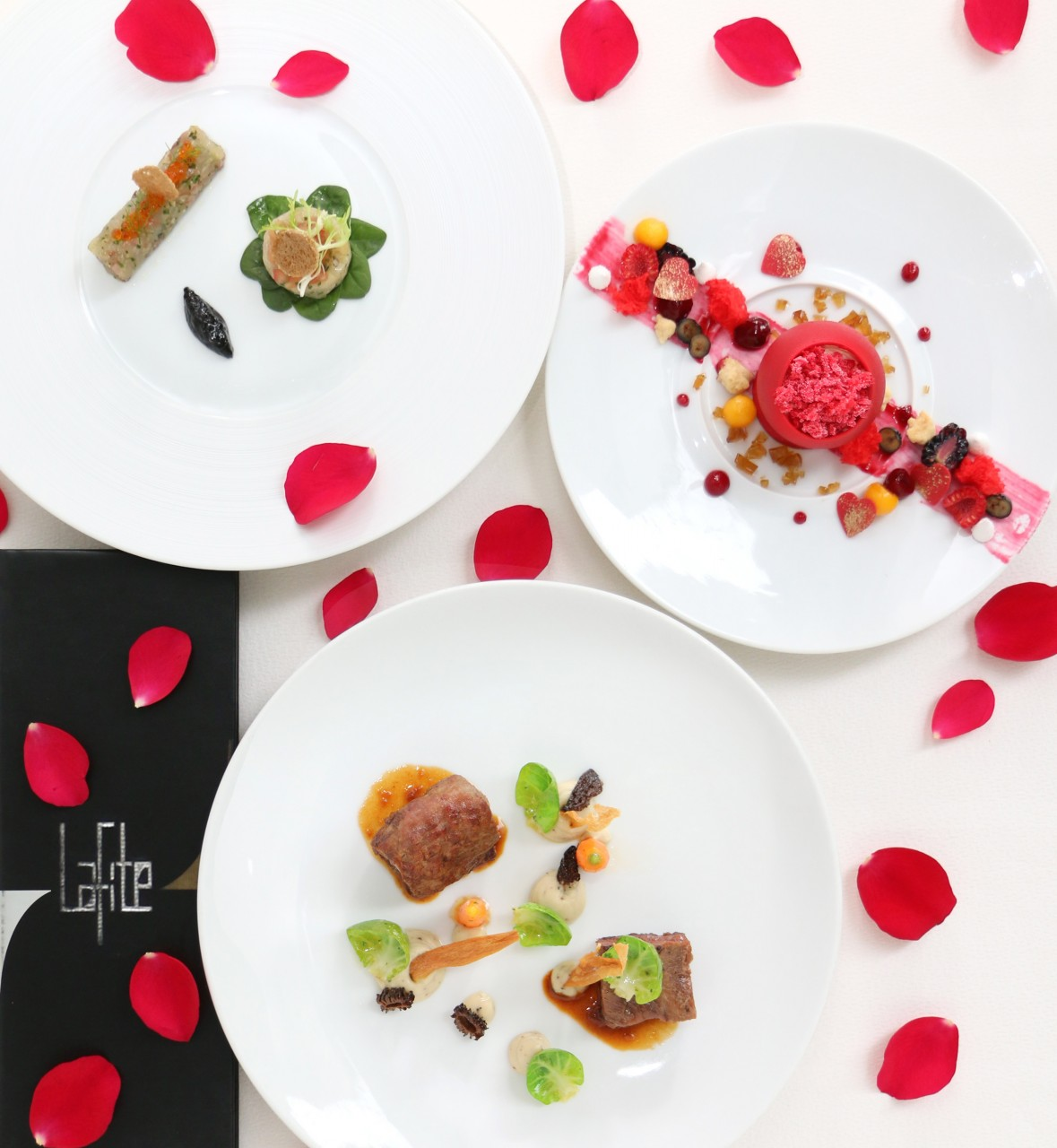 valentine 39 s day 2017 dining promotions exquisite menus for two. Black Bedroom Furniture Sets. Home Design Ideas