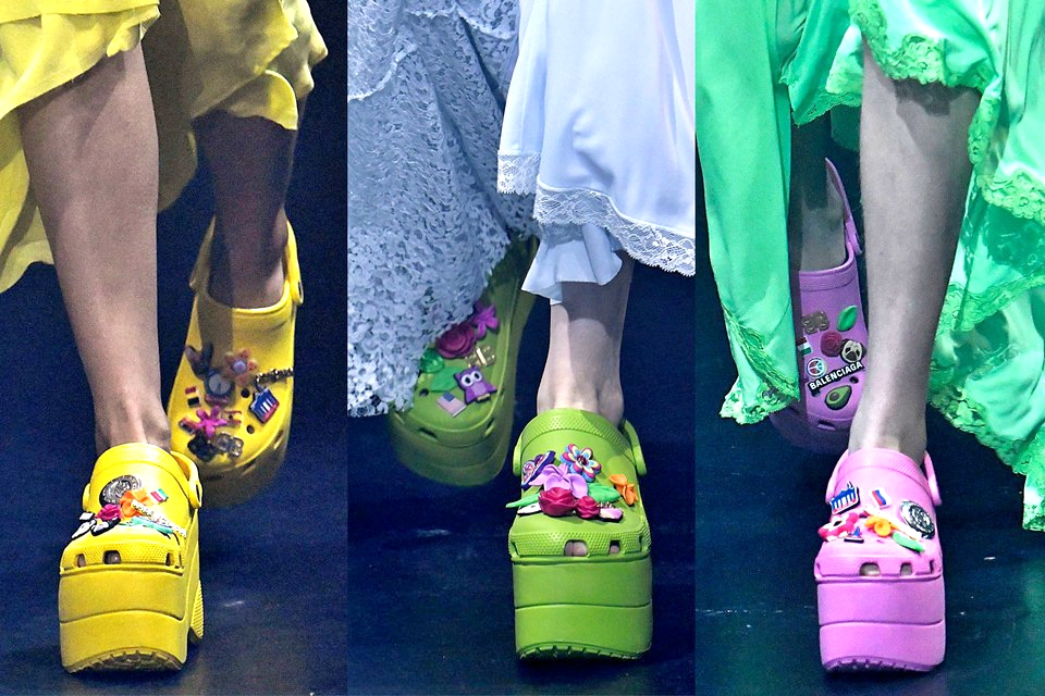 e5c25019cf6 Balenciaga s New Platform Crocs Are SO High-Fashion