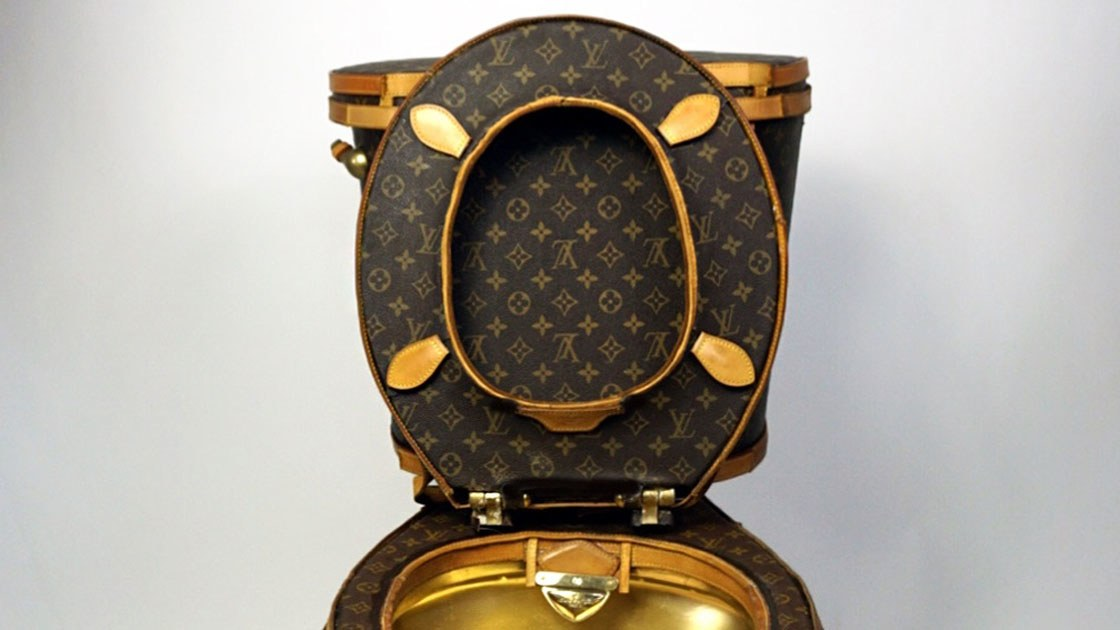 Would You Spend Rm418k On This Golden Louis Vuitton Toilet