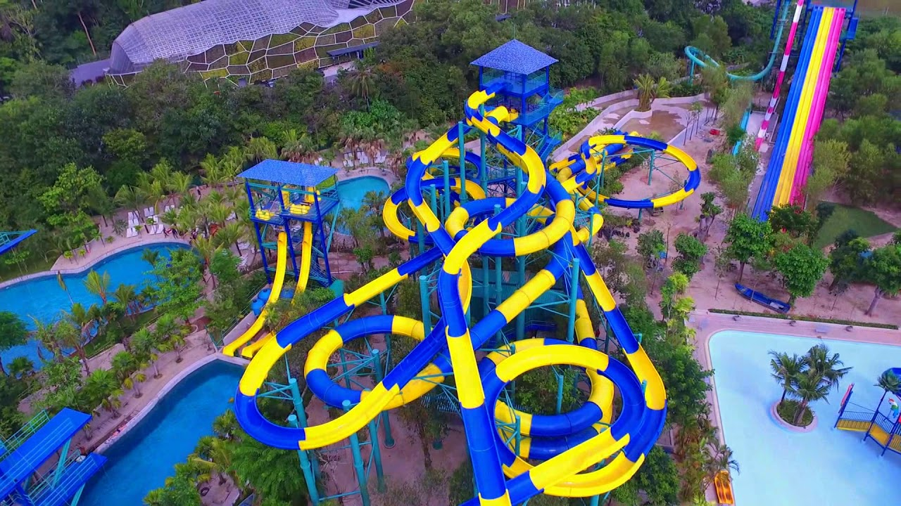 Penang 39 s escape park is building the world 39 s longest water for World s longest video