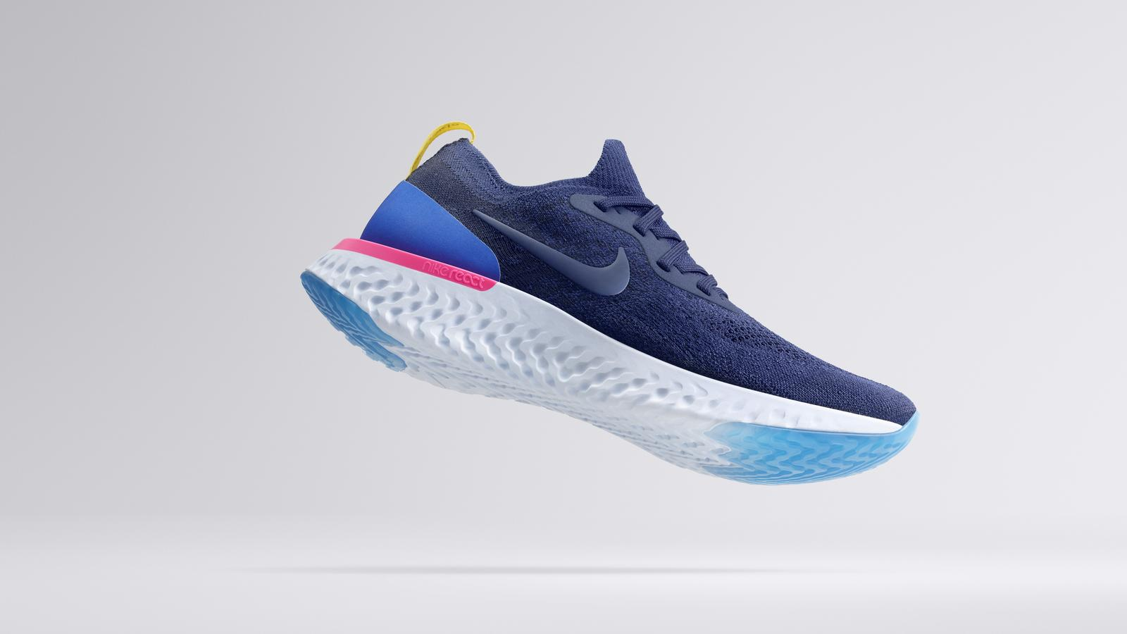 The New Nike Epic React Flyknit Integrates Its Proprietary Nike React Foam