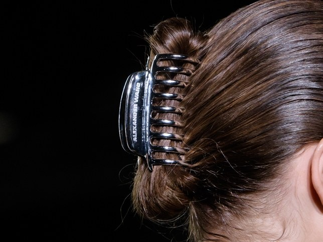 Alexander Wang Is Making This Old School Hair Accessory