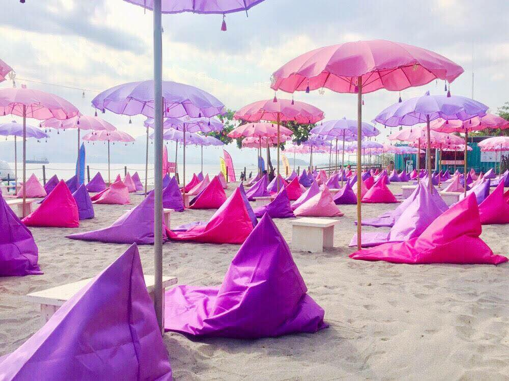 This Millennial Pink Inflatable Island In Philippines Is