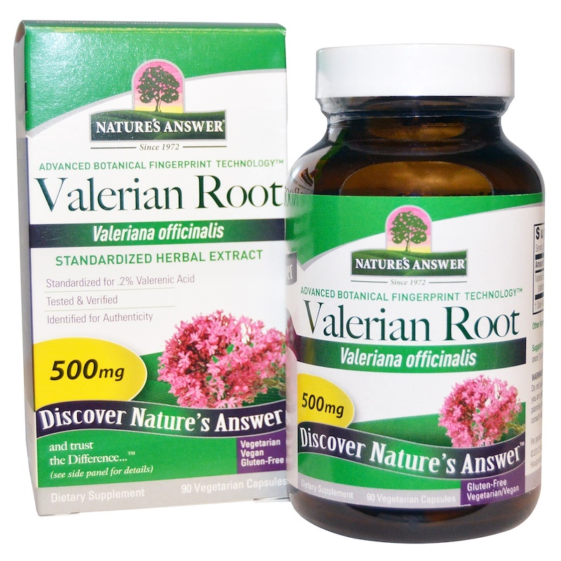 Valerian root for anxiety dosage