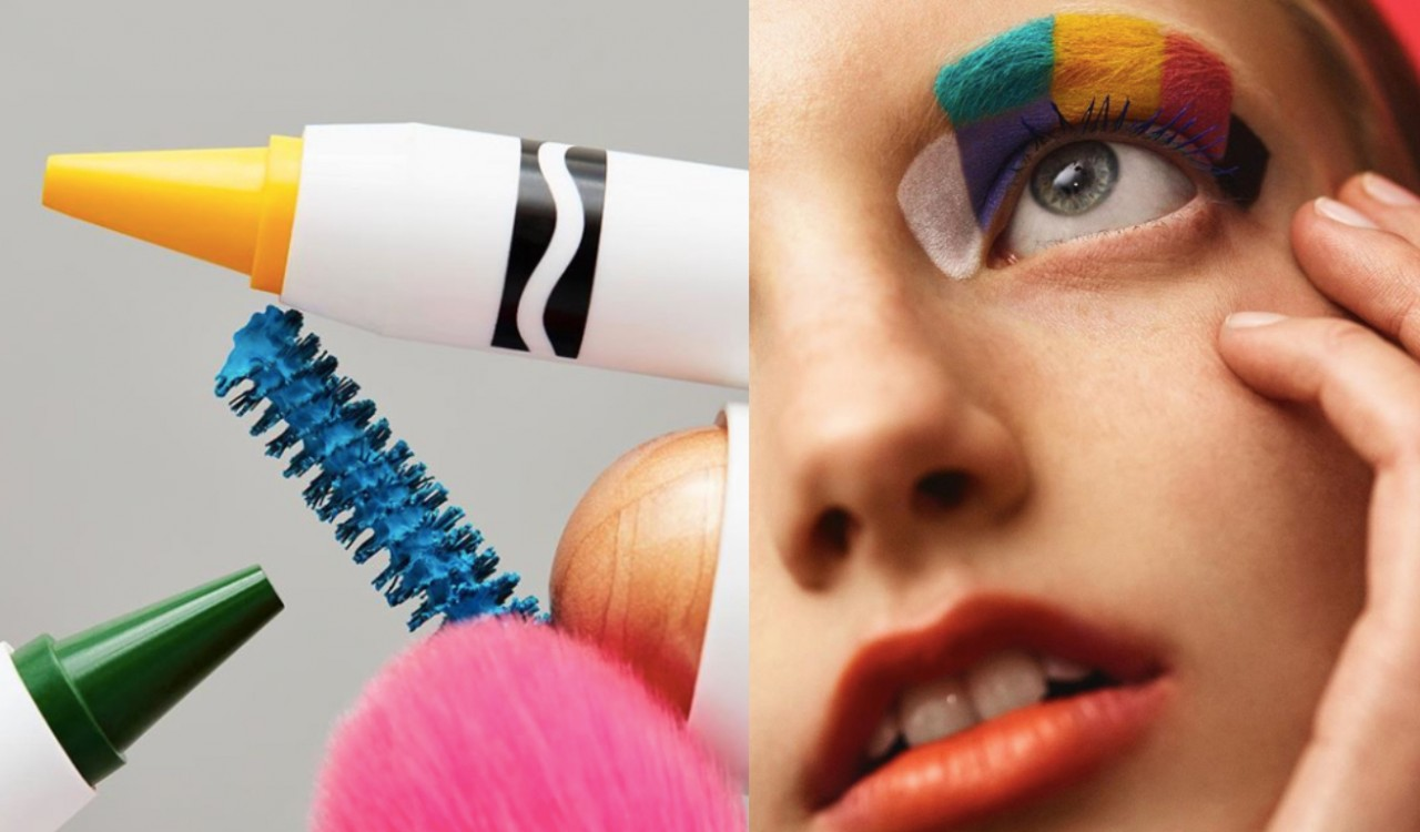 Crayola Just Launched A Vegan Beauty Line & It's Perfect For Your Festival Beauty Looks
