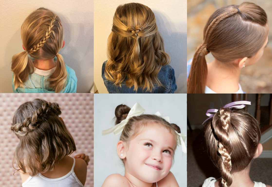 8 Cool Hairstyles For Little Girls That Won't Take Too